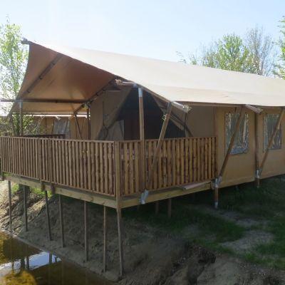 Bijzondere Overnachtingen - Glamping Safari tent