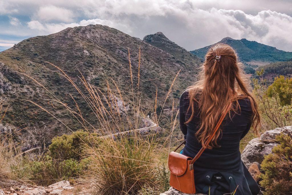 Wandelen bij Refugio de Juanar   Ojén Spanje