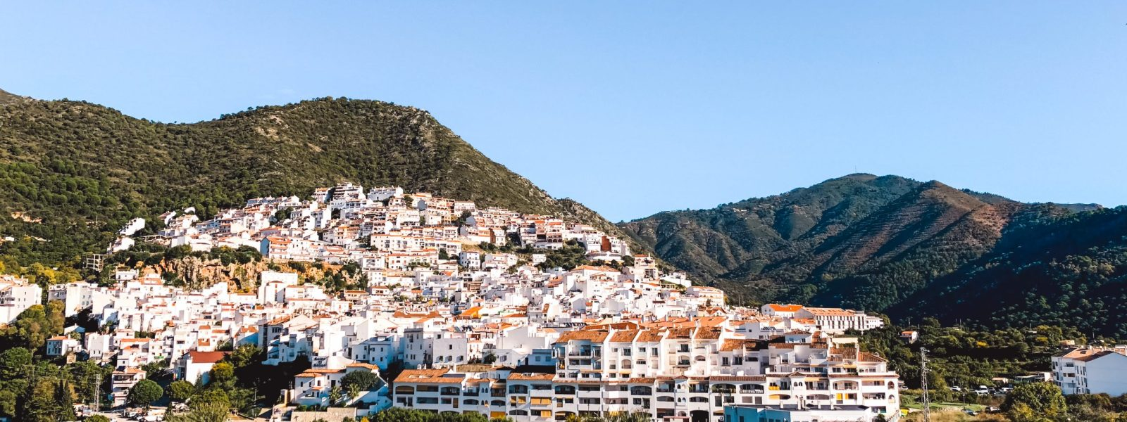 Ojén in Spain, white-washed hidden gem in Andalusia