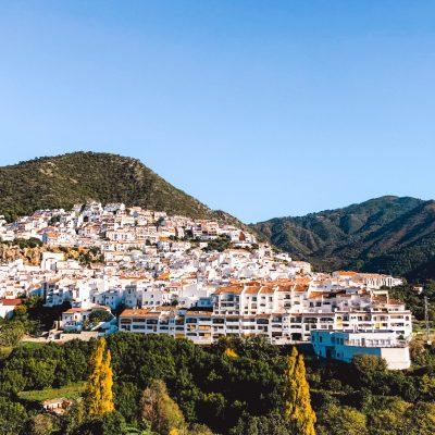 Ojén in Spanje | pueblo blanco in Spain