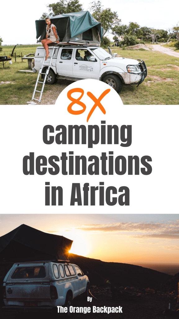 Camping in Africa destinations