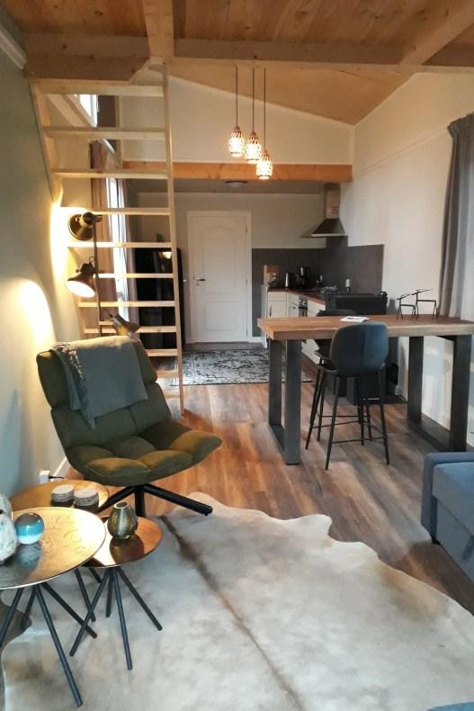 Airbnb met jacuzzi Tante Strockel