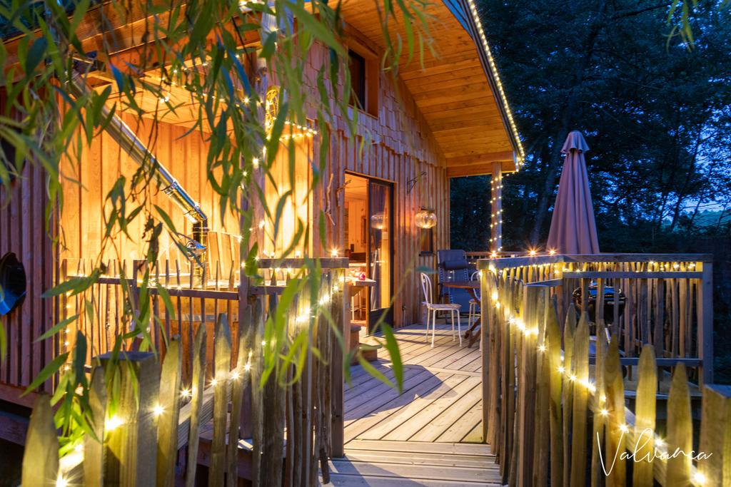 The Cabane du Beau Vallon Treehouse in Belgium