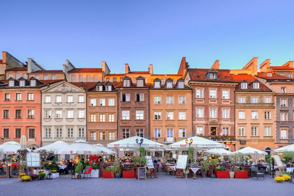 Road trip Eastern Europe Warsaw