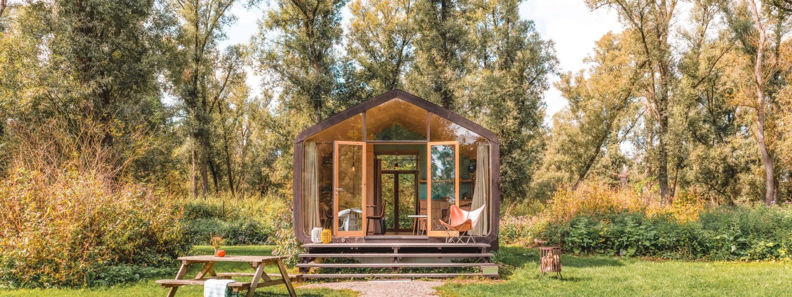 Wikkelhouse huren: overnachten in duurzame tiny houses