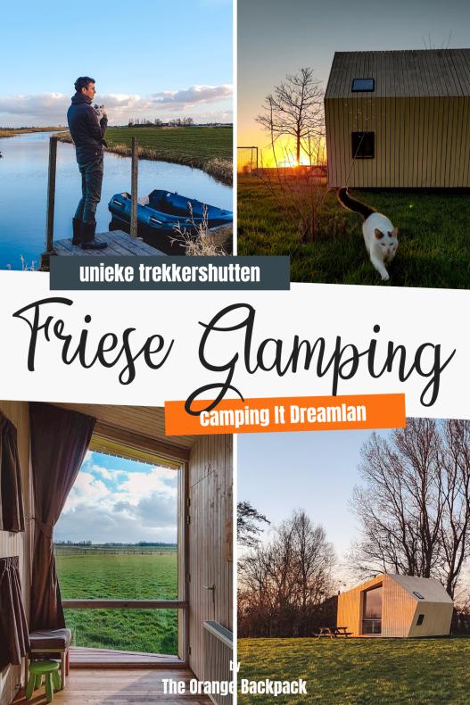 BIjzondere trekkershutten Friesland | Glamping It Dreamlan