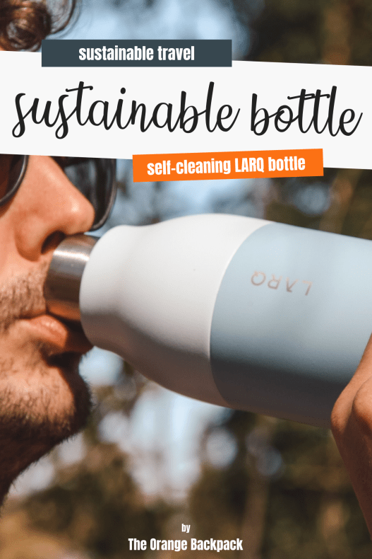 LARQ review sustainable water bottle