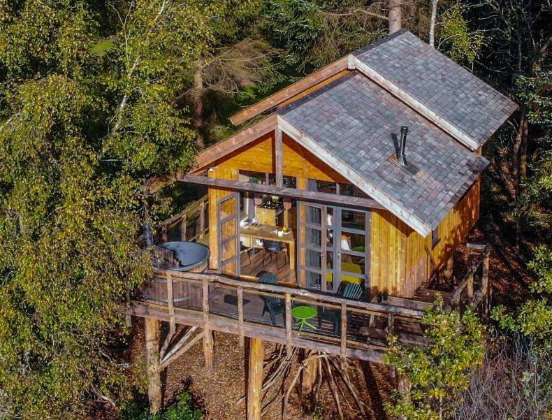 Nature House Treehouse Netherlands | Natuurhuisje Boomhut XXL in Ruinen