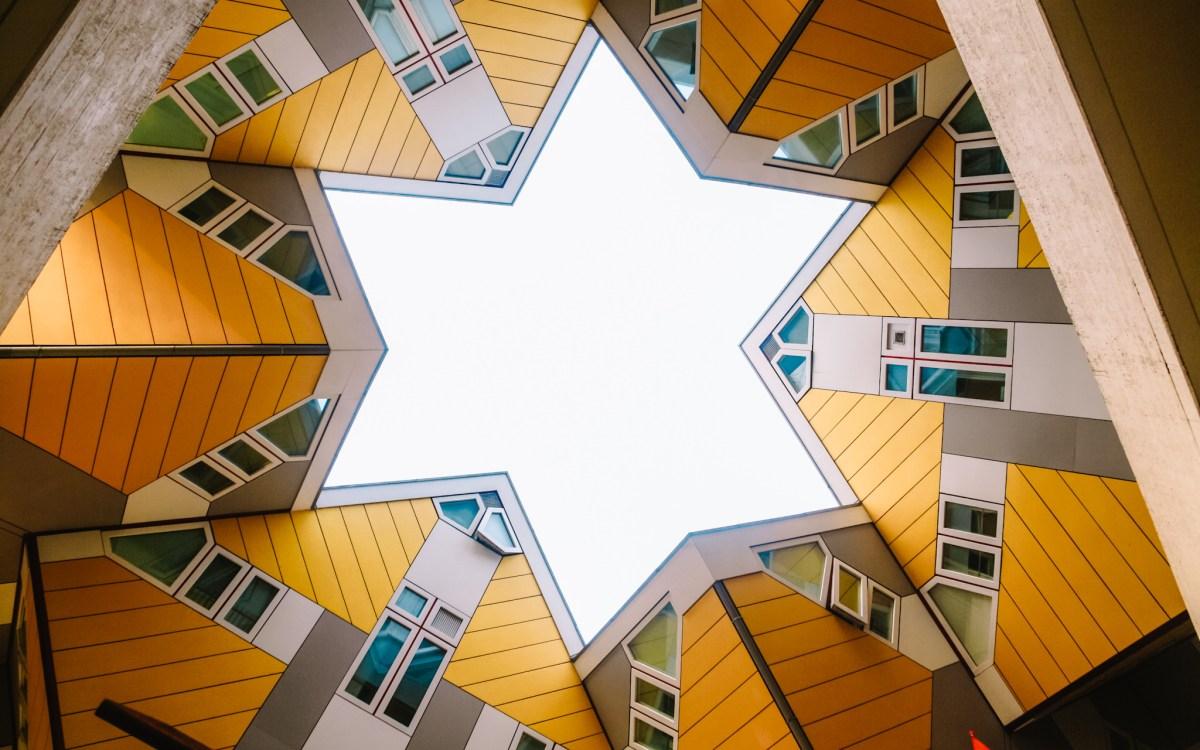 mooiste plekjes Rotterdam   Kubuswoningen en Blaakse Bos
