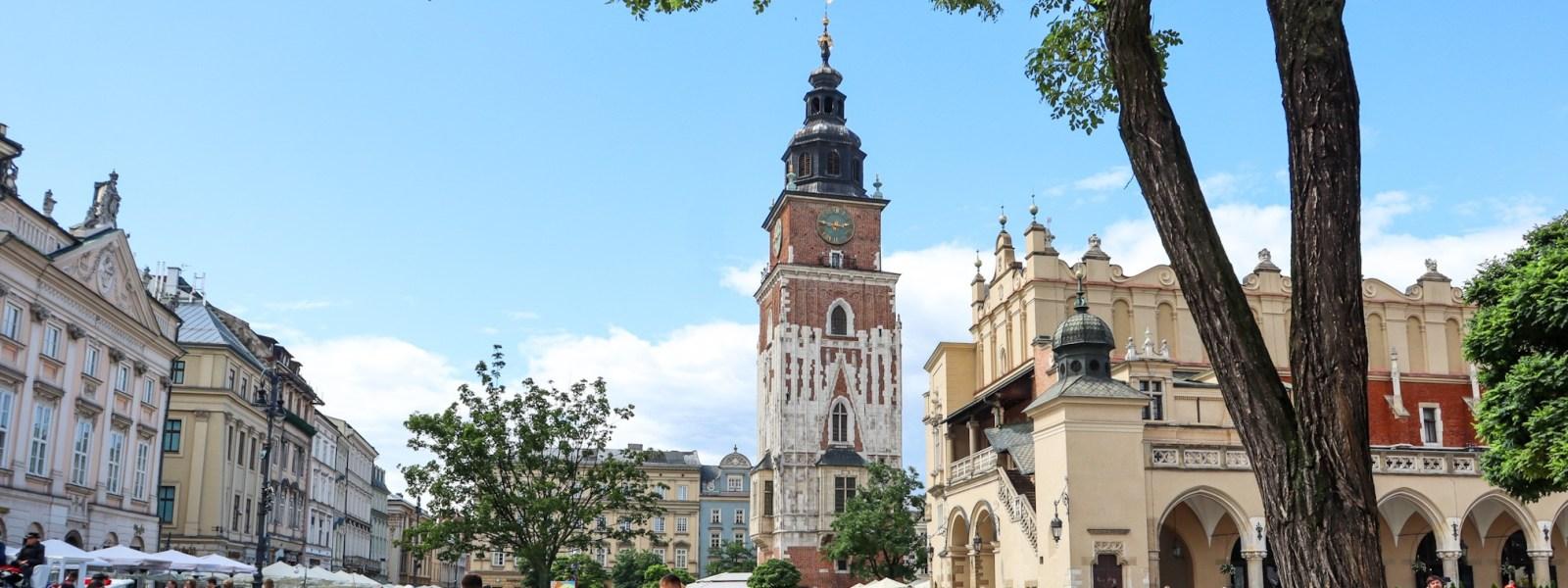 Bezoek de Grote Markt van Krakau