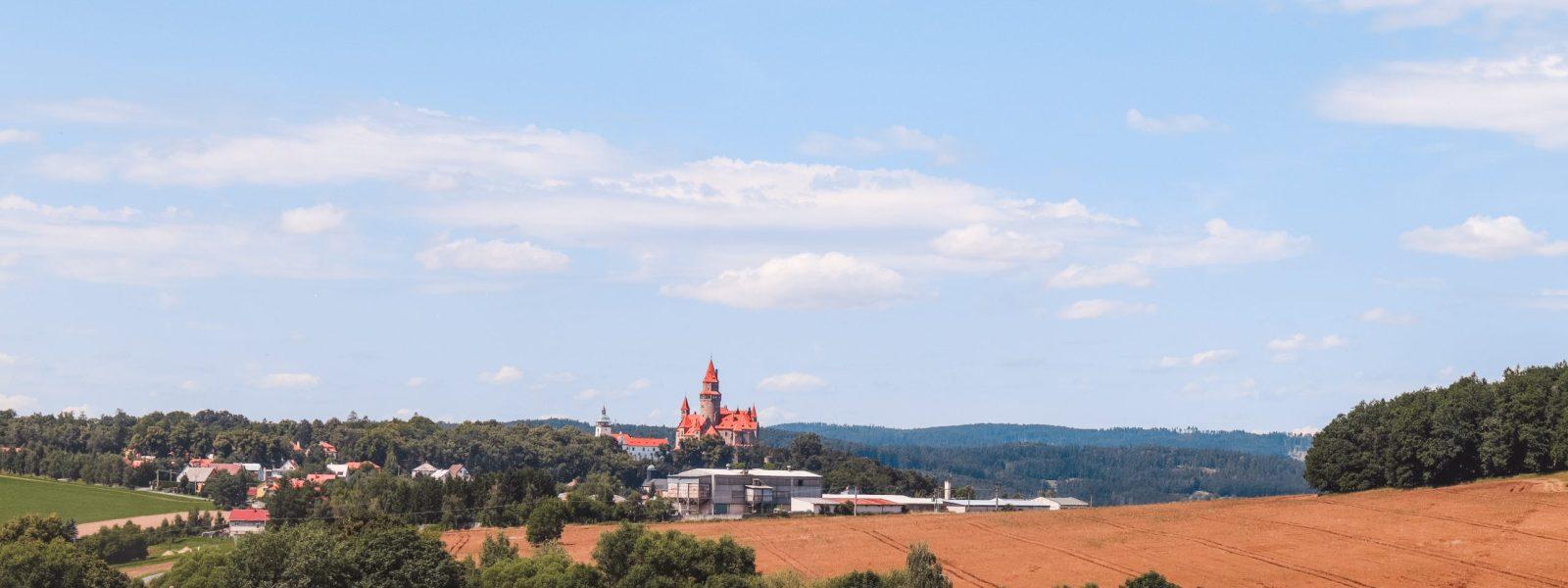 Hrad Bouzov, sprookjeskasteel in Moravië