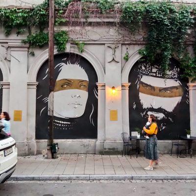 street art Krakau Polen