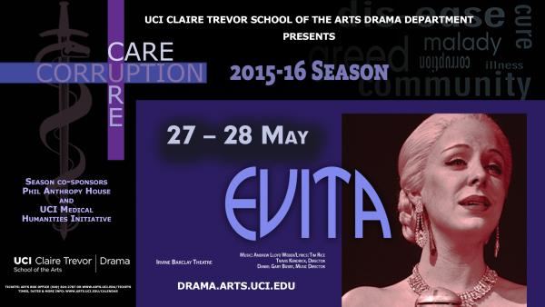 AMB Theatre Podcast #54 presented by OCR : Evita @ Irvine Barclay Theatre in Irvine