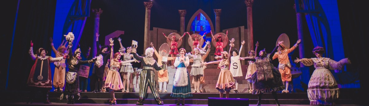 Broadway in the Park presents : Beauty and the Beast @ Peppertree Park in Tustin  - Review