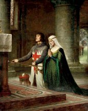 the-dedication-edmund-blair-leighton-1852-1922-templar-his-lady