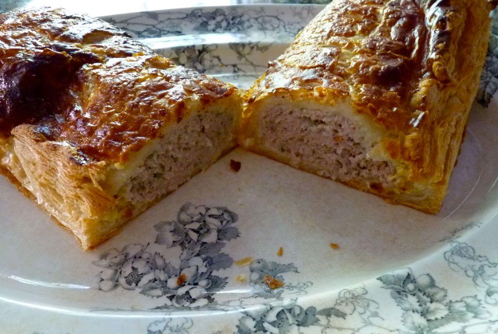sausage and sage pie