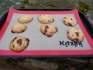 Buckwheat and almond cookies