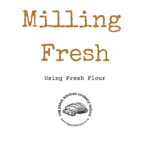 using fresh flour