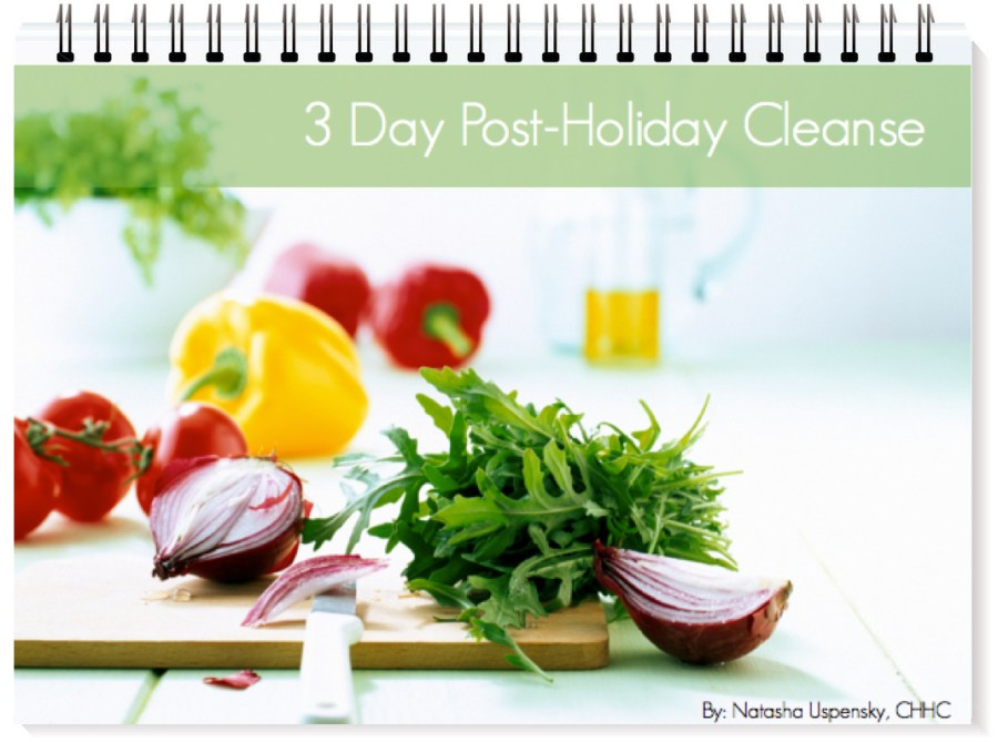NU Health 3 Day Cleanse Ebook