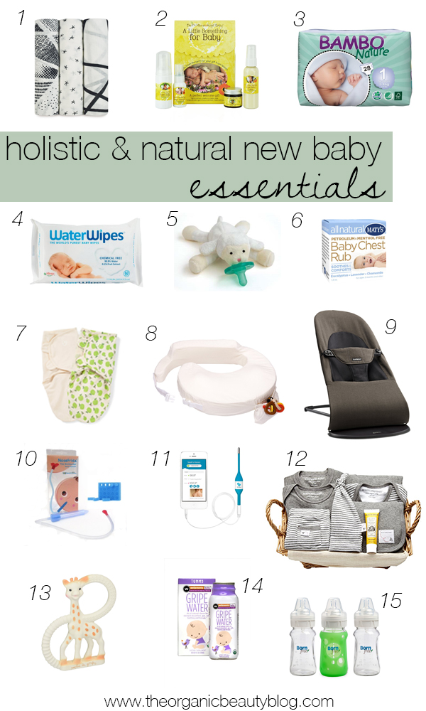 Holistic New Baby Essentials + Giveaways!