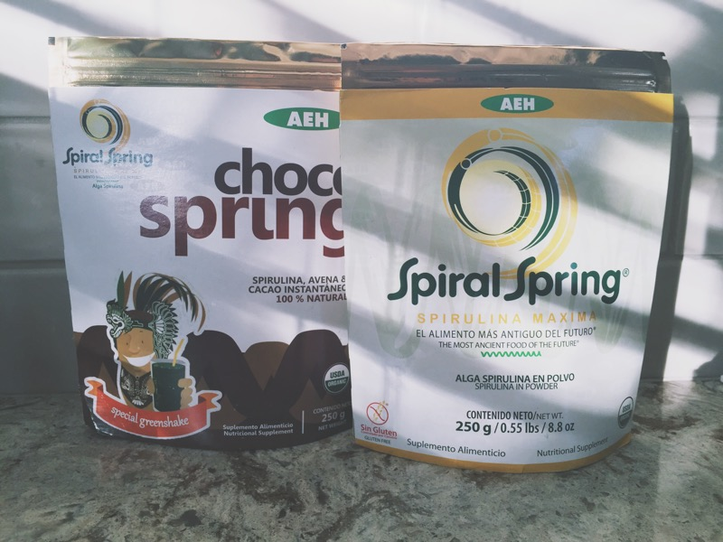 Spiral Springs Spirulina | The Organic Beauty Blog