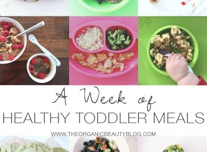 A Week of Healthy Toddler Meals   The Organic Beauty Blog