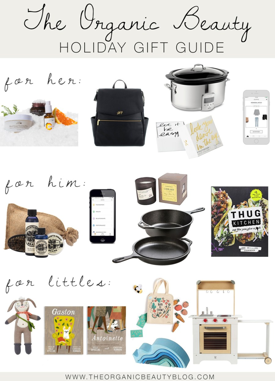 Holiday Gift Guide 2017 | The Organic Beauty Blog