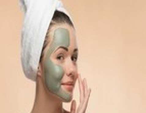 Austrailian Olive Green Face Mask Blend