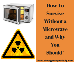 How To Survive Without a Microwave and Why You Should!