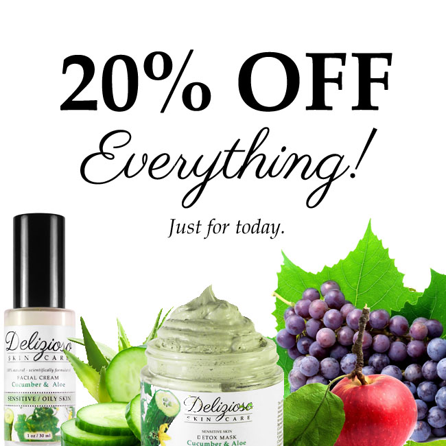 20% OFF EVERYTHING (Today Only!)