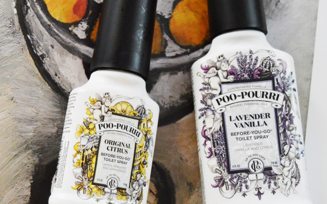 Poo-Pourri Review + Giveaway!