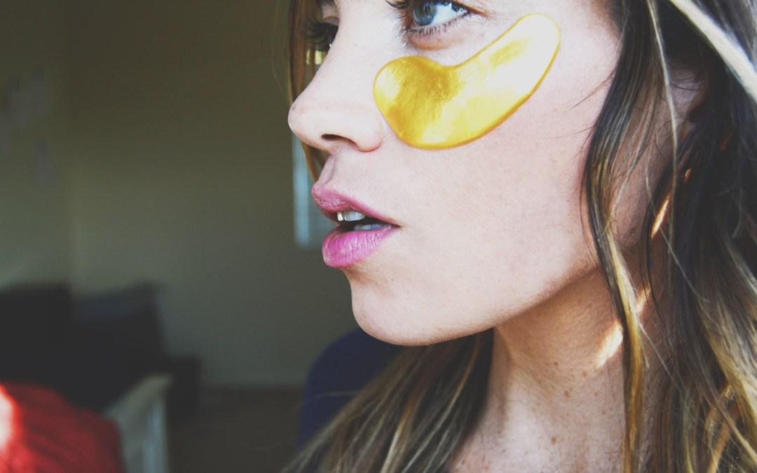DIY Wrinkle Blasting Collagen Eye Mask