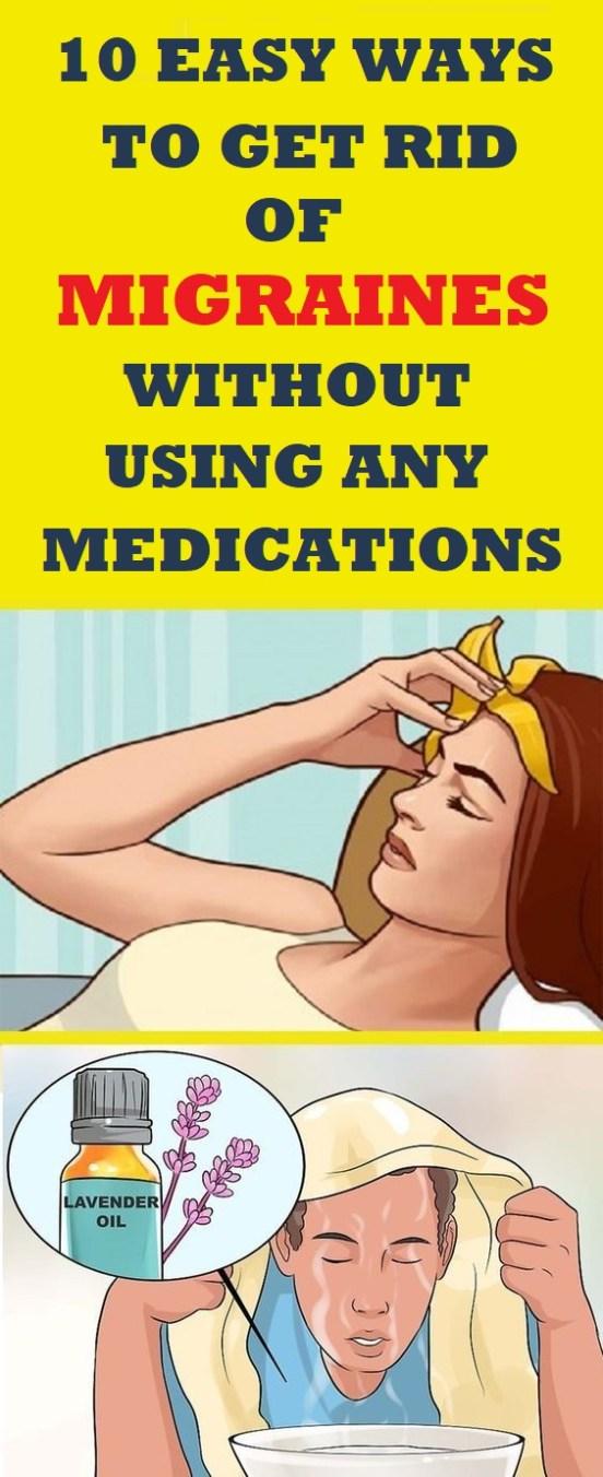 get rid of migraines
