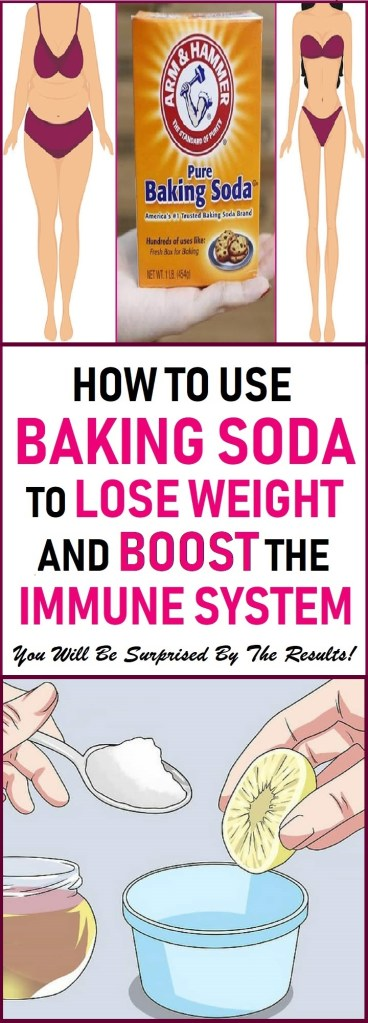 use baking soda to speed up weight loss