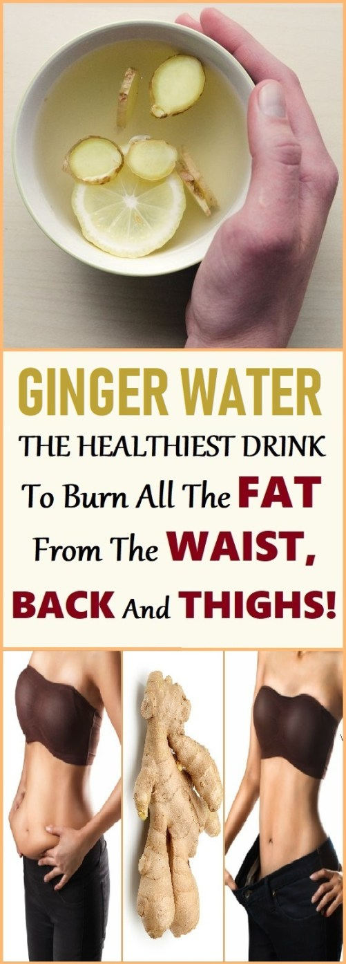 how to lose weight with ginger water