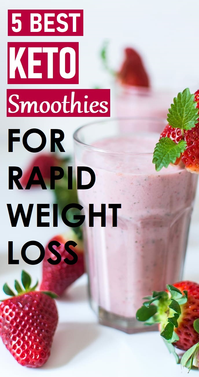 keto smoothies for rapid weight loss