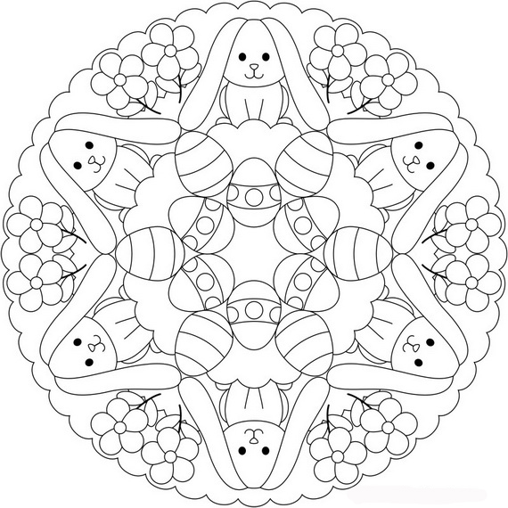 easter coloring pages free # 23