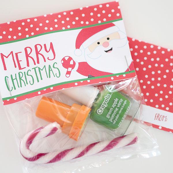 CHRISTMAS TREAT BAGS PRINTABLE BAG TOPPERS The