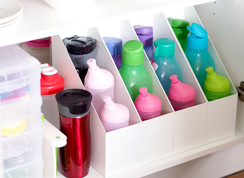 How To Organise Under The Kitchen Sink Cupboard The Organised Housewife