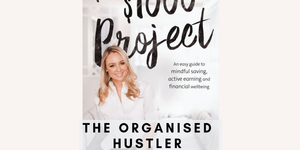 the $1000 project book cover with Canna Campbell