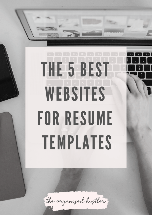 The 5 best places to find stunning resume templates