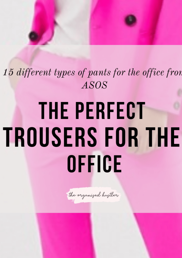 Trousers for the office