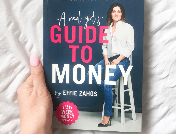 A real girl's guide to money front cover