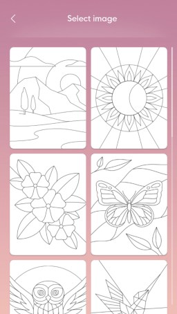 bloom mindfulness app experiences drawings