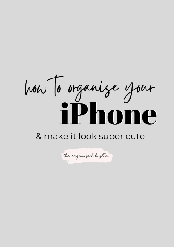 How to organize your iOS14 iPhone and make it look aesthetic & cute