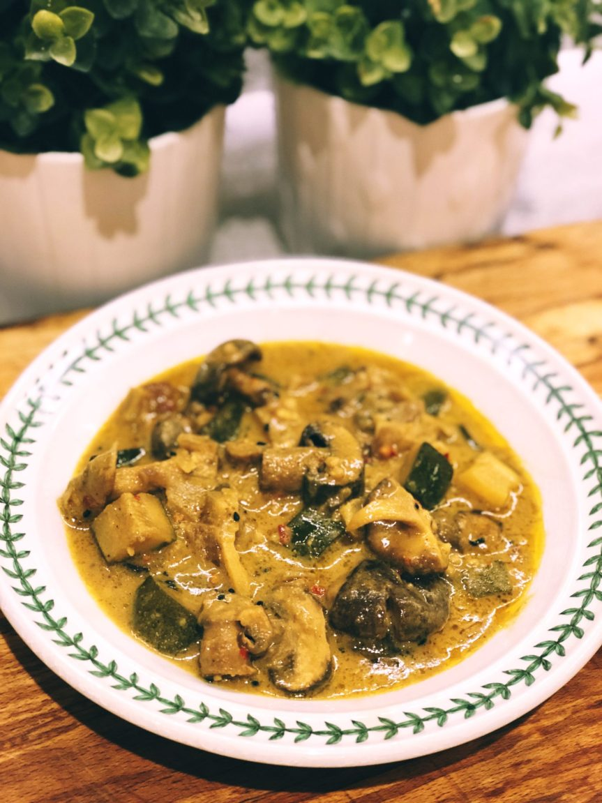 Lush Mushroom Curry
