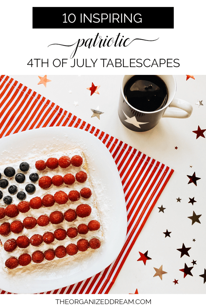 10 Inspiring Patriotic 4th of July Tablescapes