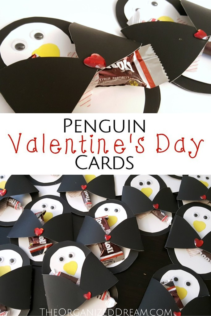 Penguin Valentine's Day Cards