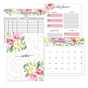 2020 Planner Pages & 12 Month Claendars