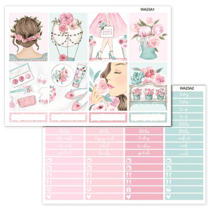 Rose Garden Sticker Kit